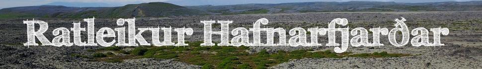 Ratleikur Hafnarfjarðar - Hausmynd